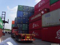 集装箱运输的优势